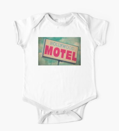 Hollywood Motel Sign One Piece - Short Sleeve