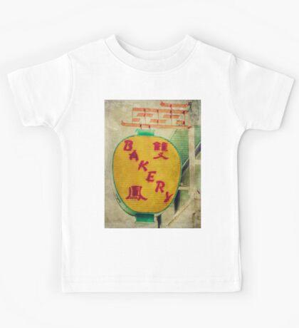 Chinese Bakery Neon Sign Kids Tee