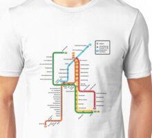 underground of amsterdam Unisex T-Shirt