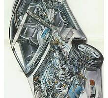 Full Color Z32 Cutaway by Godfoot808