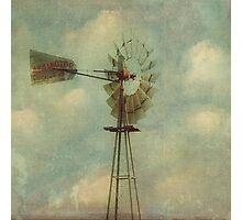 Vintage Windmill Photographic Print