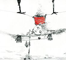 Red Bucket of Fairness by arozenman