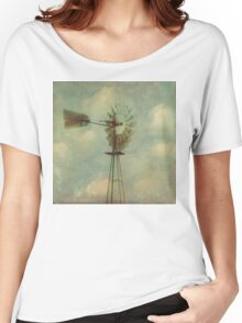 Vintage Windmill Women's Relaxed Fit T-Shirt