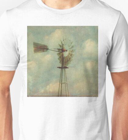 Vintage Windmill Unisex T-Shirt