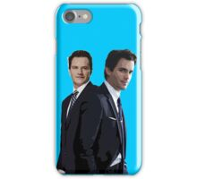 White Collar case iPhone Case/Skin