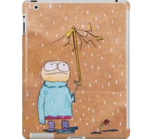 Eddy is having a bad day iPad Case/Skin