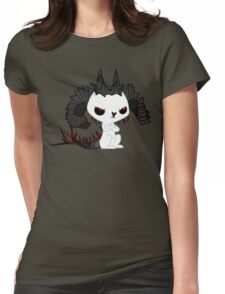 Devil Bunny Womens Fitted T-Shirt