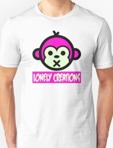 Lonely Creations Quiet Ape  T-Shirt