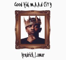 """King Kendrick"" - Good Kid, m.A.Ad City T-Shirt"