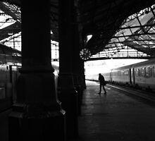À la Gare St-Lazare by Nicholas Coates