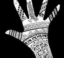 Mayan Mendhi by redqueenself
