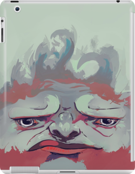 Grumpy Ape by JohnMB