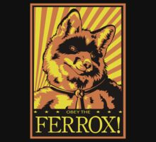 Obey the Ferrox (Orange) by preyfar