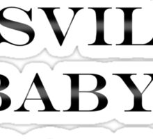 No Can Dosville Baby-Doll Sticker