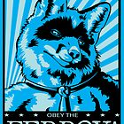 Obey the Ferrox (Blue) by preyfar