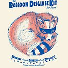 Raccoon Disguise Kit - Blue & Red by Lee Bretschneider