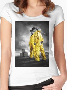 Real Breaking Bad Merchandise Women's Fitted Scoop T-Shirt