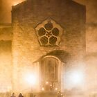 Galway Cathedral In The Mists by Mark Tisdale