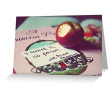 I Tasted It; No Poison - Princess Photograph Greeting Card