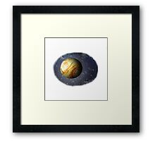 Far Out Planet Framed Print