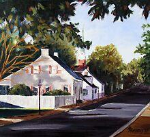 Street Scene Ste Genevieve by MIKE DEVANEY