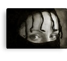 Mystery Girl Canvas Print