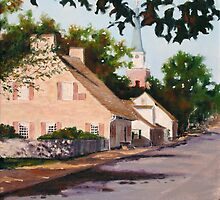 Ste Genevieve Street Scene by MIKE DEVANEY