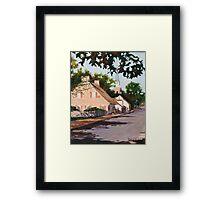 Ste Genevieve Street Scene Framed Print