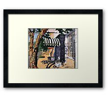 Hotel Sainte Genevieve Entrance Framed Print