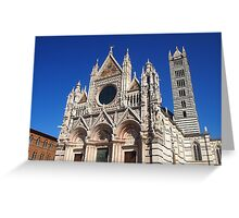 Siena Cathedral Greeting Card