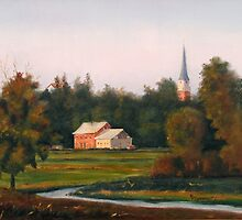 Morning Levee Light by MIKE DEVANEY