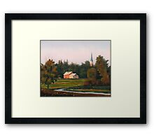 Morning Levee Light Framed Print