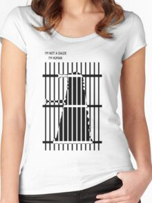 Elite's human dalek Women's Fitted Scoop T-Shirt