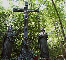 On a hill far away stood an old rugged cross... by WalnutHill