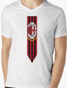 Rossoneri Mens V-Neck T-Shirt