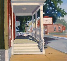Morning Porch Light by MIKE DEVANEY