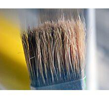 ©HS Paint Brush In Yellow IIA Photographic Print