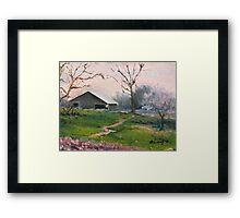 Naeger's Farm Framed Print