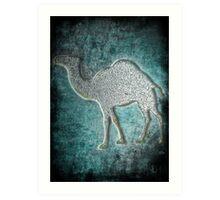 ©HS Camel Metals IA Art Print