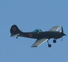 YAK-50 Seen at the Palo Alto CA airport by jvoweaver