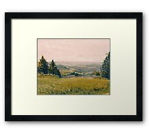 View from Fallert's Studio Framed Print