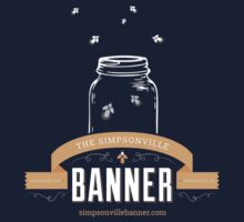 The Simpsonville Banner Brand Tshirt by tsblocal