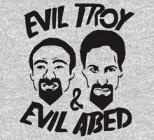EVIL TROY AND ABED by loganator