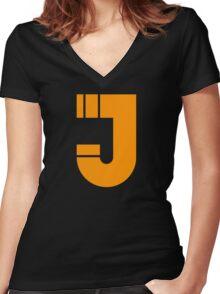 Jonny J Women's Fitted V-Neck T-Shirt