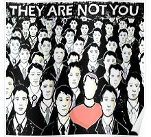 They Are Not You Poster