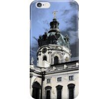 castle charlottenburg in berlin germany iPhone Case/Skin