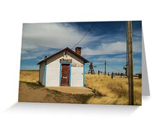 Powderville Post Office Greeting Card