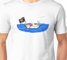 All aboard the Copdoc ship! Unisex T-Shirt