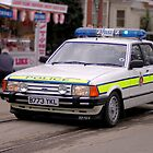 Police Mk2 Ford Granada 2.8i by larry flewers