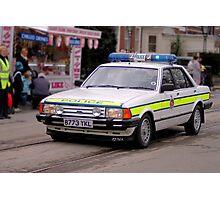 Police Mk2 Ford Granada 2.8i Photographic Print
